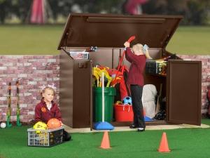 School And Playground Storage