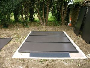 Metal Shed Base