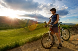 Think about bike security before cycling off into the sunset!