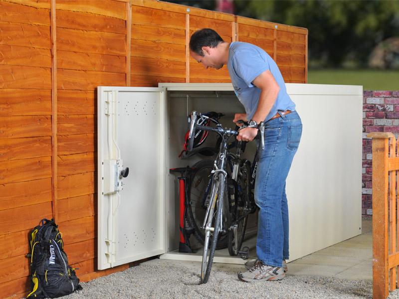 Vertical Bike Locker Bike Storage Lockers