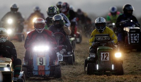 Lawn Mower Drivers took part in the 12-hour endurance race in West Sussex