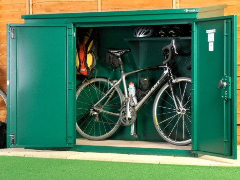 Insurance approved bike storage