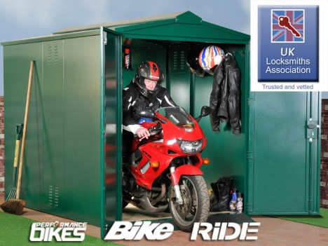 Motorcycle Storage Units From Asgard