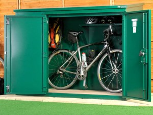 High Security Bike Shed