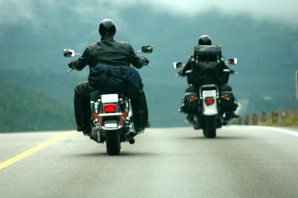 Summer motorbike rides