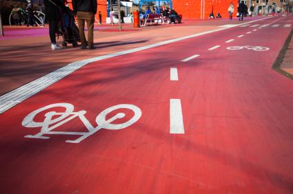 Copenhagen cycle lane