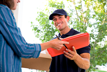 Parcel Delivery Box - Don't Miss The Post Again