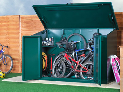 Garden security bike shed