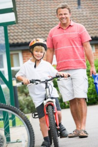 Encourage your child to cycle to school
