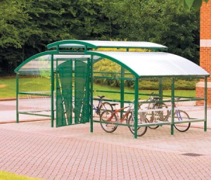 Bike Shelters will encourage more children to cycle to school