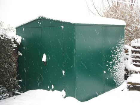 snow and asgard bike storage