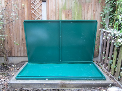 Step by Step building an Asgard bike shed