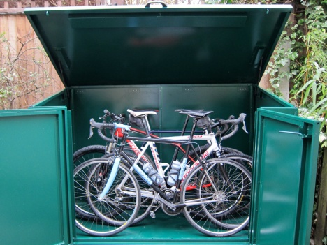 The Asgard Access ideal for 4 bikes