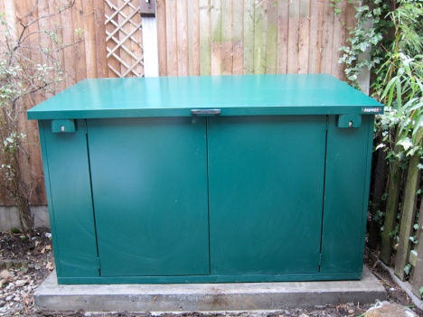 Easy Access Bike Shed Roof