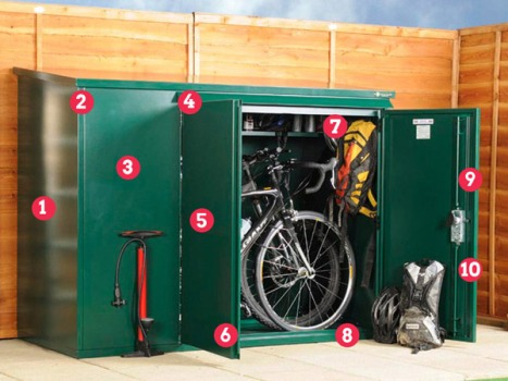Asgard 3 bike shed