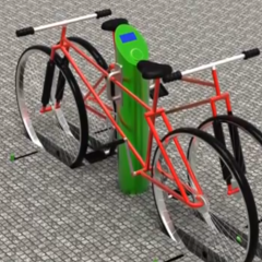 New concept bike rack