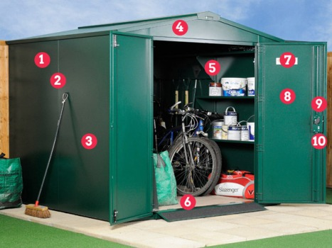 Large outdoor storage from Asgard