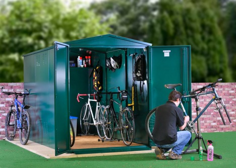 Asgard's Biggest Bike Shed!