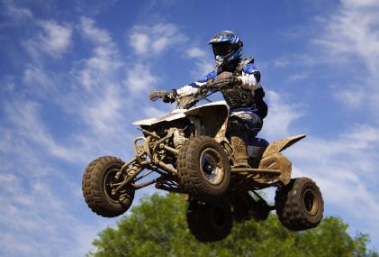 quad blue jump